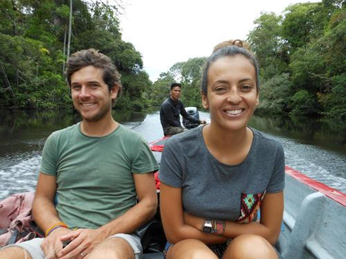 BEST CUYABENO TOURS: natigating up the Imuyo River.